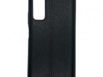 Husa Telefon Silicon Huawei P Smart 2021 Black Leather PRODU