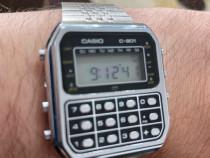 Ceas Casio C 801 vintage 1980