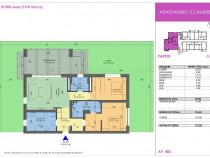 Apartament 3 camere 85mp plus curte 141mp liberi