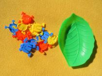 Joc cu broscute colorate