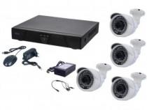 Kit supraveghere video 4 camere SUPER CLEAR AHD Ak9545