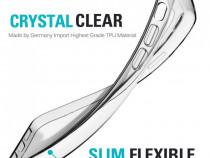 Husa Silicon Transparent Samsung Galaxy A20s + Cablu de date