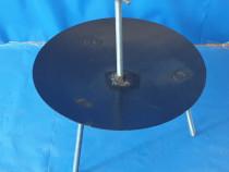 Disc de gatit (CAMPING), 45 cm, grosime, 2.5mm, Inaltime 30m