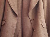 Compleu iarna lana,model unicat,pantaloni 3/4+sacou cambrat