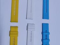 Curele silicon smartwatch 22 mm.