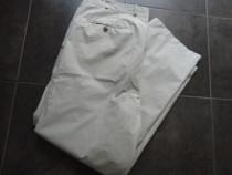Pantaloni bej din tercot marimea XL