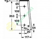 Cutit piston presa de balotat gallignani 149,149S, 7000,7100