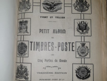 Album filatelic timbre poste toata lumea