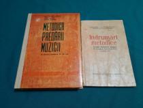 Ot 2 cărți pedagogie: metodica predării muzicii, îndrumări m