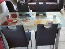 Set masa living cu scaune