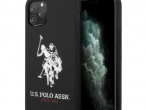 Husa Originala U.S. Polo iPhone 11 Pro Max - USHCN65SLHRBK