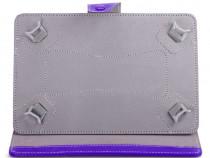 Husa Tableta 8 Inch Model X ,Mov ,Tip Mapa ,4 Cleme C95