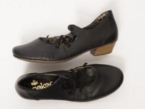 Pantofi Rieker, de piele naturala, 39
