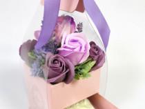 Flori de săpun cu cadou