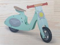 Bicicleta echilibru retro,noua/Scooter lemn 2-4 ani