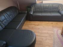 SOFA, canapea din piele NATURALA