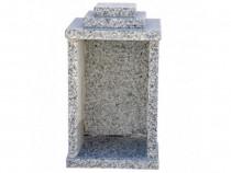 Felinar granit gri 30 x 20 x 20 cm