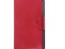 Husa tableta model X MRG L-345, 8 inch, Rosu C345