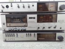 Linie audio, amplificator, tuner, deck vintage