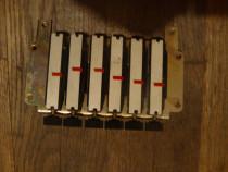 Rack potentiometre multitura tuner tv + knob-uri push button