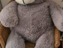 Ursulet de plus gri 120 cm