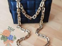 Geanta Bottega Veneta import Italia accesorii aurii
