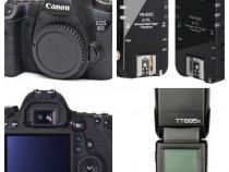 Aparat Foto Canon 6D + Blitz Godox TT685C + Triggere Yongnuo