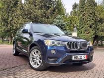 BMW X3 fab.2016 xDrive (4X4) 2.0 Tdi 190 CP Automat Bi Xenon