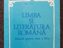 LIMBA ROMANA MANUAL PENTRU CLASA A IX-A - Anghelescu