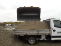 Transport ieftin piatra, nisip, balast etc