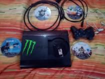 PS3 plus 4 jocuri