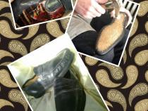 Pantofi lucrati manual tip Mocasini Casual 41 NOI