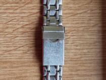 Bratara ceas argintiu