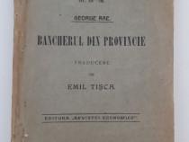 Carte veche biblioteca bancilor romane bancherul emil trisca