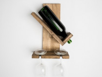 Cadouri pentru barbati, nasi, suport sticle vin- homecode