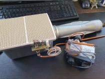Arzator automatizat pentru gaze -uz casnic, sobe de teracota