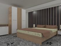 Dormitor Luiza SONOMA cu comodă