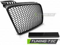 Grila sport tuning Audi A4 B7 RS Style negru mat NOU