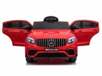 Masinuta electricaMercedes-Benz GLC63scu SCAUN TAPITAT RED