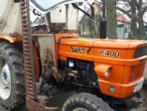 Tractor Fiat 445 cu cositoare laterală