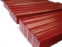 Tabla cutata colorata și zincata o gama larga