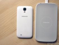 Set Original Incarcator Wireless Samsung + Capac Baterie S4