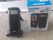 Telefon mobil Nou Brondi king dual SIM Black
