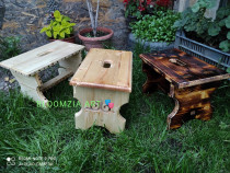 Scaunel lemn