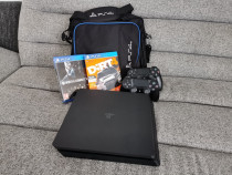 Consola Sony Playstation 4 SLIM, 500 GB, cu 2 Controllere
