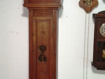Ceas de podea cu pendul si 2 greutati anii 1800