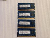 Memorie RAM laptop Elpida 2GB PC3-12800 DDR3-1600MHz EBJ20UF