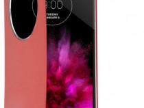 Husa flip LG G Flex 2 Quick Circle Case Rosu