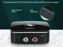 Ugreen receiver Bluetooth 2x RCA 3.5mm Jack receptor adaptor