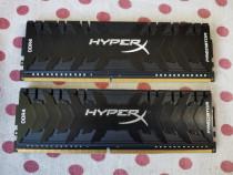 Kit Memorie HyperX Predator Black 16GB DDR4 3200MHz CL15.